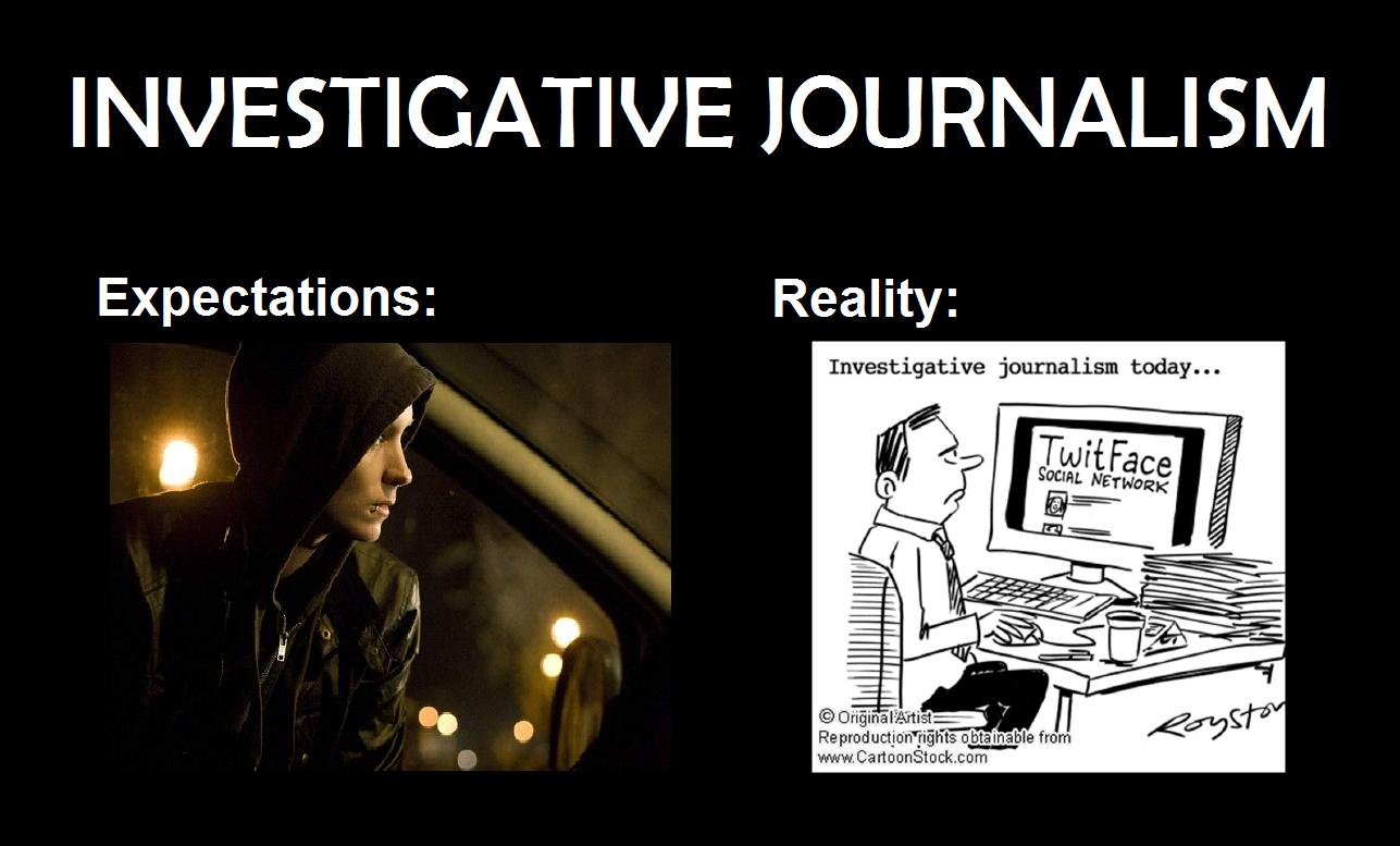 Professional writing website vs journalism