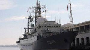 Russian spy ship near US, Pentagon says. (Press TV Photo)