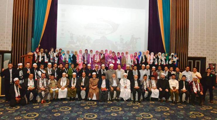 "Participants of ""International Conference on Liberation of Al-Aqsa and Defending the Oppressed,"" Selangor, Malaysia, May 17 to 18, 2014."