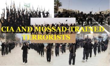 CIA and Mossad Trained Takfiri and Al-Qaeda terrorists
