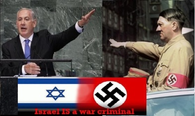 Benjamin Netanyahu Looks Like Adolf Hitler.