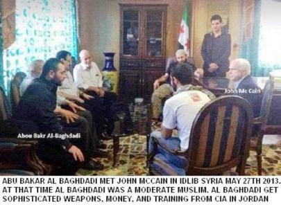 Al Baghdadi and McCain