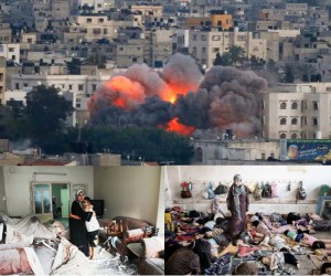 Zionist Israeli War Crimes in Gaza.