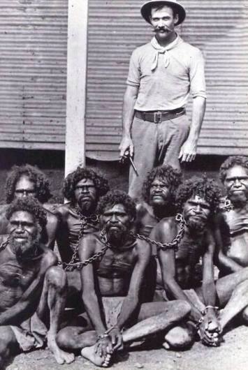 Australia, until 1960s, Aborigines came under the Flora And Fauna Act, classified them as animals, not human beings.